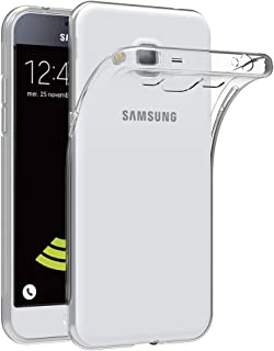 MaiJin Case for Samsung Galaxy J3 / J3 2016 (5 inch) Soft TPU Rubber Gel Bumper Transparent Back Cover