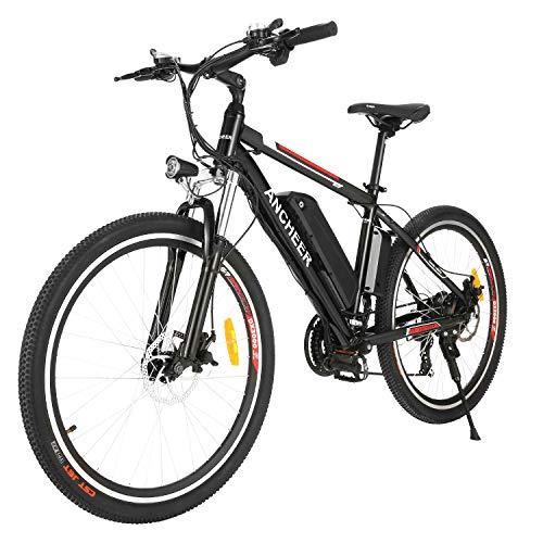 ANCHEER Bicicleta Eléctrica de Montaña de 26/27,5