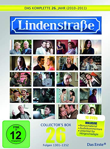 Die Lindenstraße - Das komplette 26. Jahr, Folgen 1301-1352 (Collector's Box Limited Edition,10 Discs)