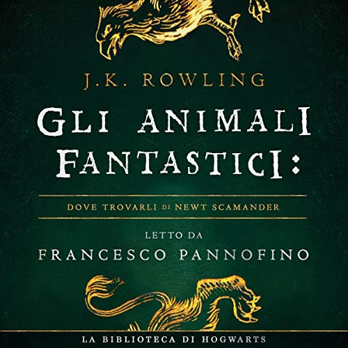 Gli Animali Fantastici: dove trovarli cover art