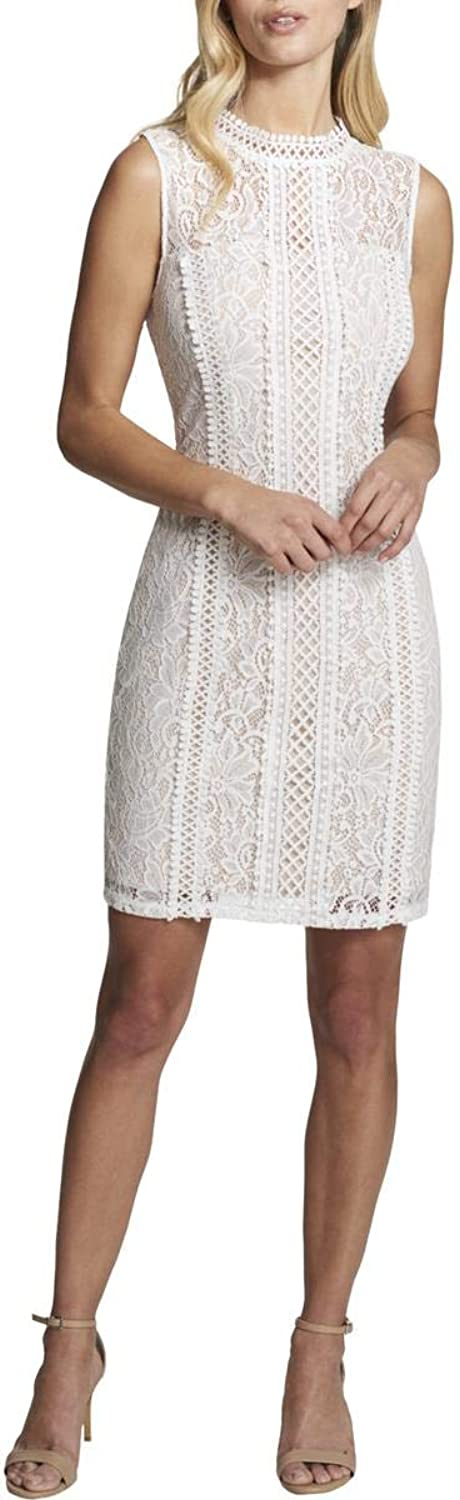 Kensie Womens Lace Illusion Party Dress