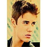 Poster Justin Bieber Poster Sänger Poster Star Retro