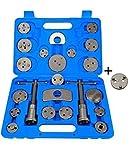 Haskyy 21 TLG. Bremskolbenrücksteller Werkzeug Set inkl. neuem Adapter für Neue Modelle mit elektronischer Handbremse