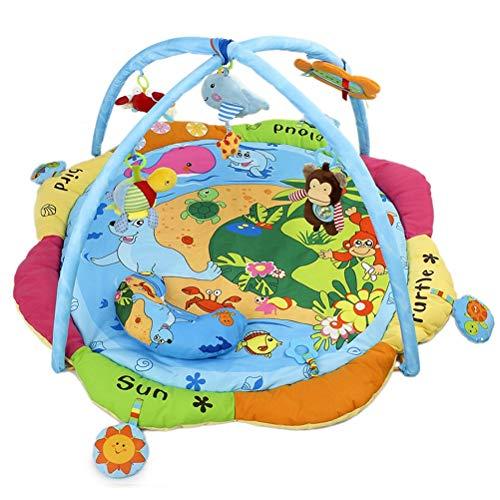 ZI LING SHOP- Happy Ocean Baby Game Deken/Fitness Stand/Baby Muziek Game Mat Soft Bed tapijt
