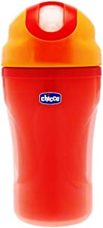 Chicco Soft Cup with Straw 18 Months and Up Watermelon, 6825700000
