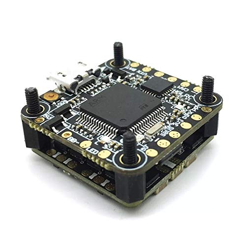 XUSUYUNCHUANG-HAT F4 Flugregler und 13A Blheli_S 2-3S 4 in 1 Brushless Regler for RC Drone Drone Zubehör