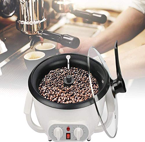 YFAZTS Kaffee-Röster Home Kaffeebohne Röstmaschine Haushalt Electric Coffee Bean Röster mit Timer Peanut Bean Home Roaster