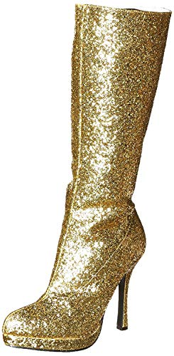 Ellie Shoes Damen 421-Zara Stiefel, Gold (Gold), 37 EU
