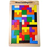 【ルルハウス】 選べるバリエーション ポリオミノ パズル ブロック Russian Block 知育玩具 木製 (ポリオミノ)