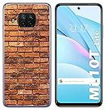 Coque en gel TPU pour Xiaomi Mi 10T Lite Motif Ladrillo 04 Dessins