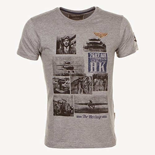 Harry Kayn-T-Shirt Manches Courtes CEBLERIO- Gris-XXL