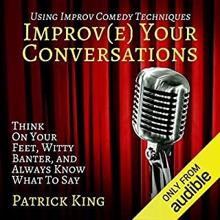 Improve Your Conversations audiobook cover art