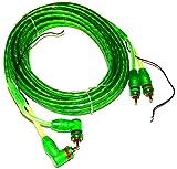 AERZETIX: Câble RCA Phono + Remote 5m mètres pour Enceintes Auto Voiture...