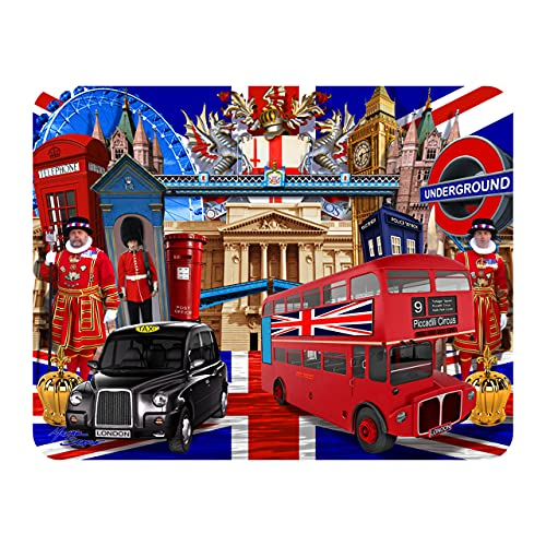 3D LiveLife Magnet - Visit to London from Deluxebase. Lenticular 3D London Fridge Magnet. Magnetic decor for kids and adults with artwork licensed from renowned artist, Michael Searle