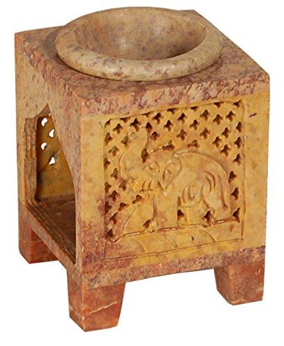 Alterras - Duftlampe: Elefant quadratisch (HxBxT: 9x6x6cm)