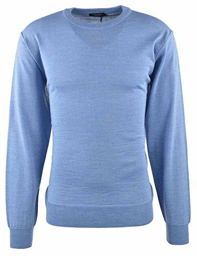 Breidhof Rundhals Pullover hellblau, Größe:60