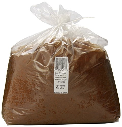 Los Chileros New Mexico Hatch Chile Powder, Mild, 5 Pound
