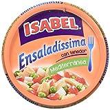 Isabel Ensalada Bol Mediterránea - Paquete de 12 x 260 gr - Total: 3120 gr