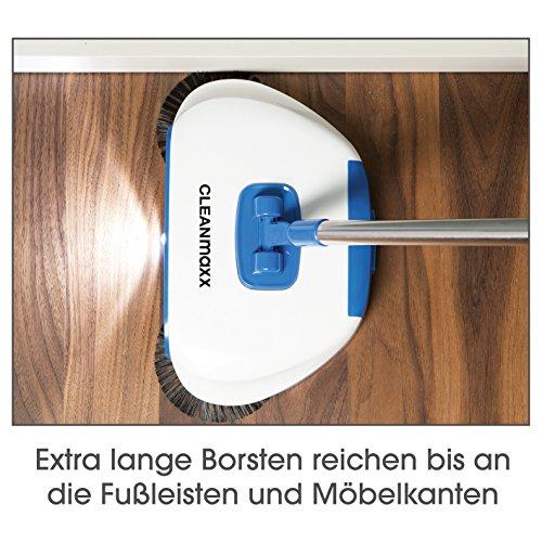 CLEANmaxx Bodenkehrer mit LED-Beleuchtung 4,5V in Blau/Weiß - 7