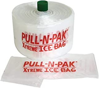 Xtreme Ice Bags, Linear Low Density Clear 3 Gallon Bags, 1500 Bags