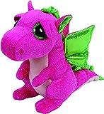 TY - Beanie Boos Darla, peluche dragón, 15 cm, color rosa (United Labels Ibérica 37173TY) , color/modelo surtido