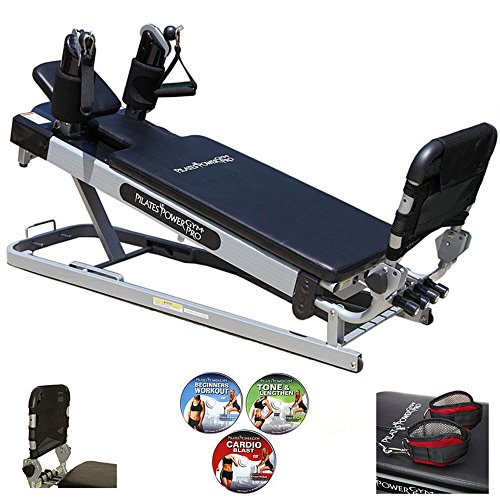 Pilates Power Gym 'Pro' 3-Elevation Mini Reformer