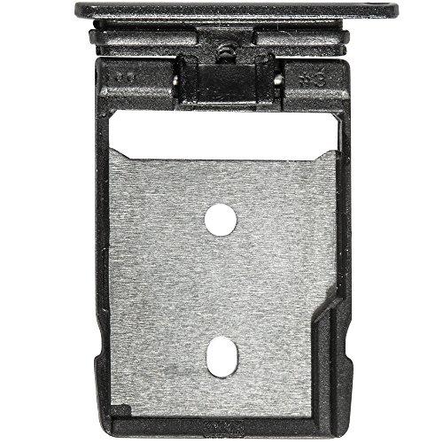 Unbekannt Original HTC SD Kartenhalter Black/schwarz für HTC One A9 (SD Tray, Holder) - 74H03077-01M