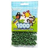 Perler Beads Fuse Beads for Crafts, 1000pcs, Dark Green