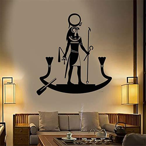 yaonuli oude Egyptische tribal muursticker slaapkamer woonkamer decoratie geloven, poster vinyl kunst verwijderbaar decal