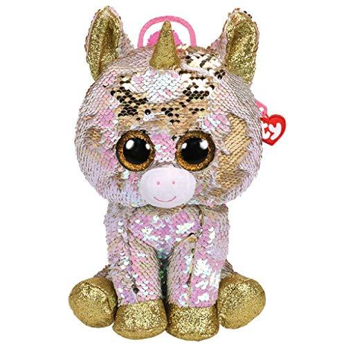 Ty – Mochila de peluche con lentejuelas – Fantasia la unicornio TY95021 multicolor