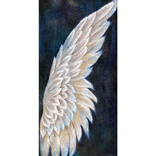 Domybest 5D Engel Flügel DIY Diamond Painting Große Größe Diamond Painting Komplettset Basteln Handwerk 5D Komplett Kreuzstich Dekoration 80 x 40 cm