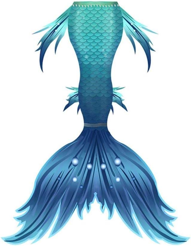 XCJ Mermaid Tail Mermaid Tail for Swimming with Monofin Kids Adu