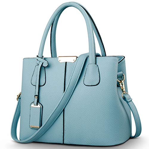 MATERIALS: high quality pu leather and high-class polyester lining, with delicate litchi pattern and clear texture. Pure color & simple designed, never out of style. EXTERNAL: looks very simple, with a back small zipper pocket for keys, very convenie...