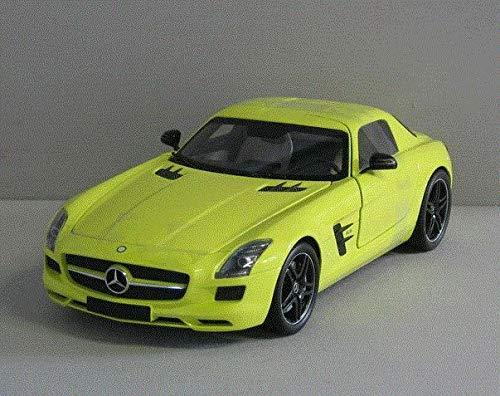 mattschwarz 1:18 NEU OVP Minichamps 100039027 Mercedes Benz SLS AMG 2010