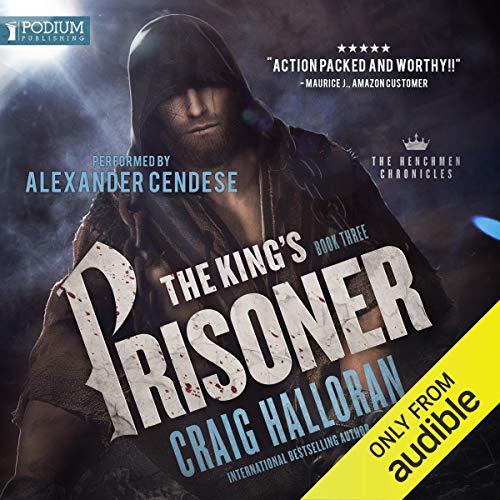 The King's Prisoner audiobook cover art