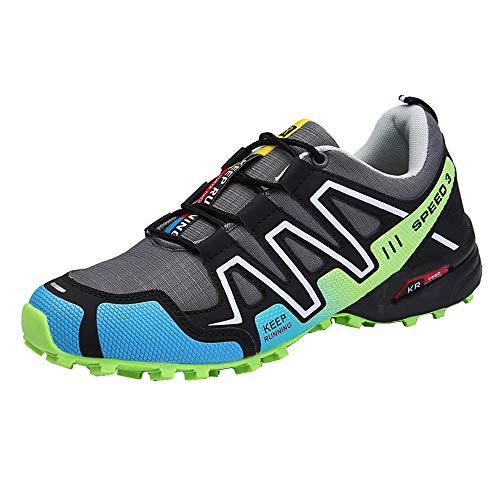 Shoes Zapatillas de Bicicleta de montaña,Ocio sin Cerradura Zapatillas de Ciclismo de Carretera Transpirable Calzado Deportivo al Aire Libre, Adecuado para el Ciclismo al Aire Libre/Senderismo/Correr