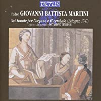 Sei Sonate Per Lorga by GIOVANNI BATTISTA MARTINI (2013-08-05)