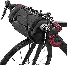 ROCKBROS Bikepacking Bike Handlebar Bag Waterproof Large Dry Pack Bicycle Front Bag Roll for MTB Mountain Road Drop-bar Bikes Bar