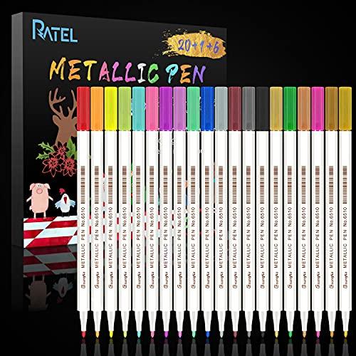 RATEL Marqueurs Métalliques (20 couleurs et plus)
