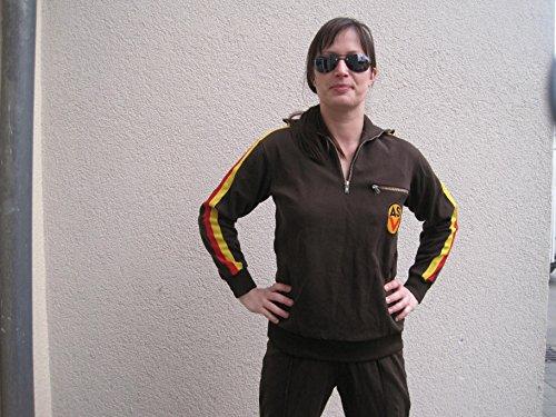 NVA Trainingsanzug Kleidergrösse 36-44 Fasching Karneval Mottoparty