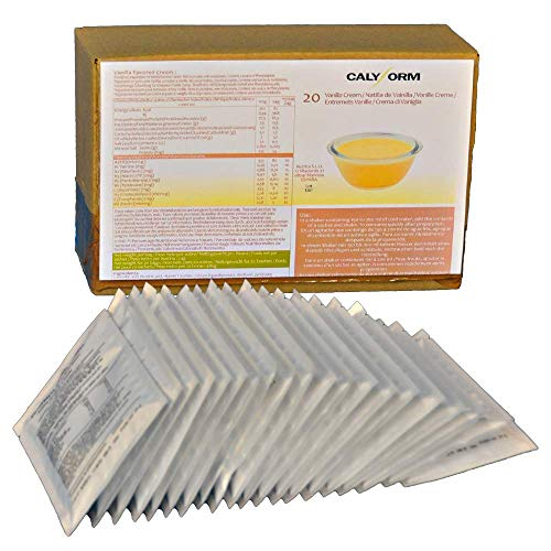 CALYFORM Natillas proteicas para dieta sabor Vainilla  100% saciante   Proteína en...