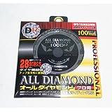 山真製鋸(YAMASHIN) オールダイヤモンド(12P) 100x12P CYT-YSD-100D12