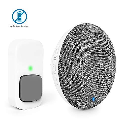 Wireless Door Bell Recordable BITIWEND MP3 Doorbell Self-Powered Door Bell...