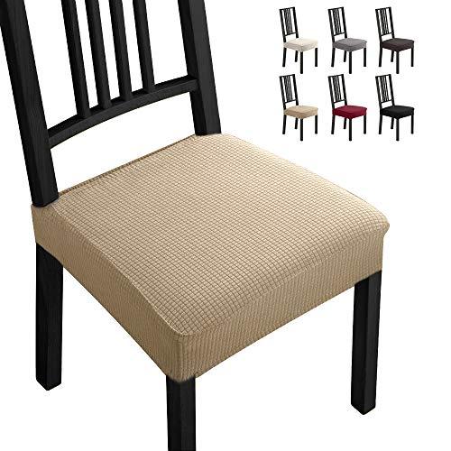 Fundas para sillas Pack de 2 Fundas sillas Comedor Fundas elásticas,Fundas de Asiento para Silla, D