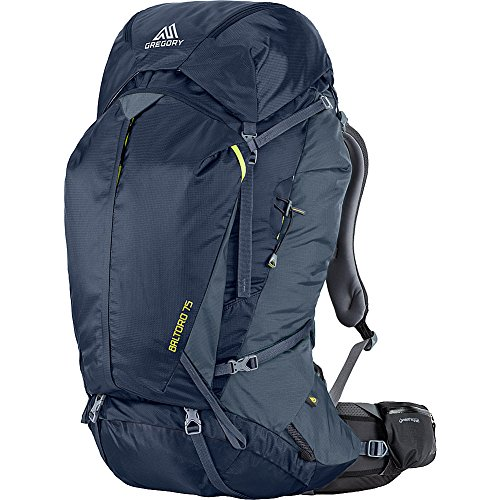 Gregory Mountain Products Baltoro 75 Liter Men's Backpack, Navy Blue, Medium