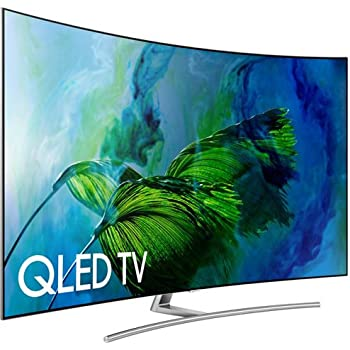 Samsung Electronics QN75Q8C Curved 75-Inch 4K Ultra HD Smart QLED TV (2017 Model)