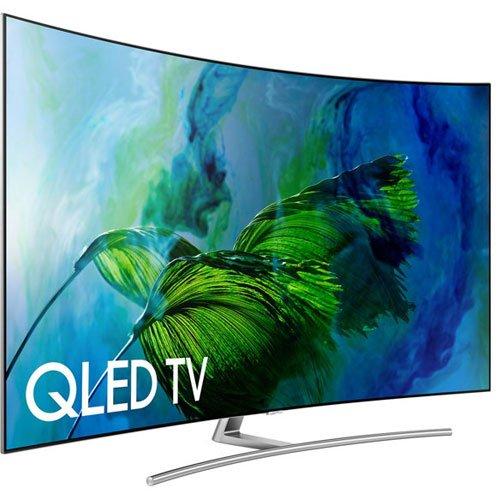 Samsung Electronics QN75Q8C Curved 75-Inch Ultra HD Smart QLED 4K TV