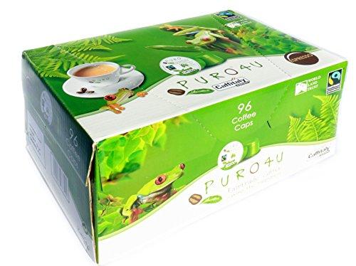 Miko Fairtrade Puro Kaffee Kapseln Caps Cafe Espresso 96 Stück (Espresso)