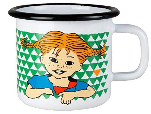 Muurla - Henkelbecher/Henkeltasse - Pippi Langstrumpf - Emaille - 370 ml