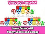 Learn Colros with Funny Cookie and Garage